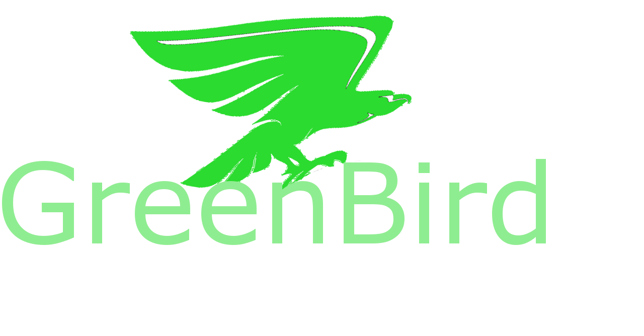 GreenBird Design Logo