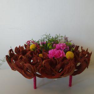 bordeaux bloemstuk